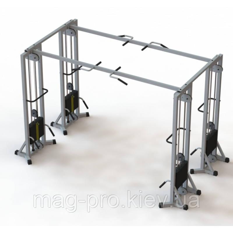 Тренажер  МТБ-4 стек 80 кг, рама 60х60 мм