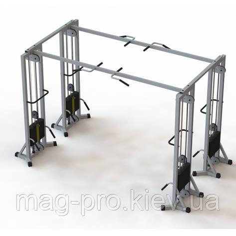 Тренажер  МТБ-4 стек 80 кг, рама 60х60 мм, фото 2