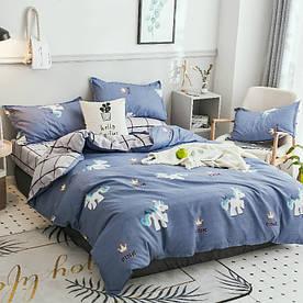 Комплект постільної білизни Поні (євро) Berni Home