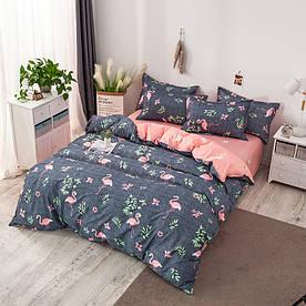 Комплект постельного белья Фламинго (полуторный) Berni Home 1418414408