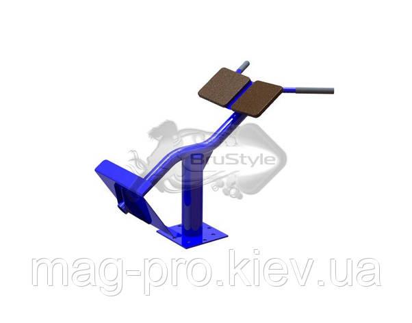 Вуличний тренажер гіперекстензія BruStyle SG120, фото 2