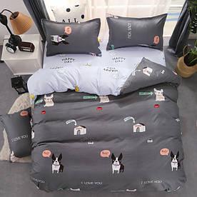 Комплект постельного белья Пес (полуторный) Berni Home