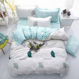 Комплект постільної білизни Зелене серце (полуторний) Berni Home