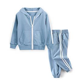 Костюм детский 2 в 1 Темп, голубой 27 KIDS (110)