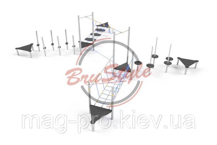 Детский игровой канатный комплекс BruStyle LK233