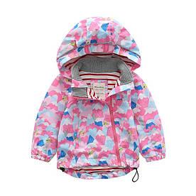 Куртка для девочки Горы Meanbear (110/120)