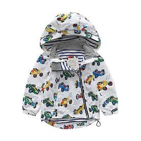 Куртка для мальчика демисезонная Машинки Meanbear (100) 1418414471