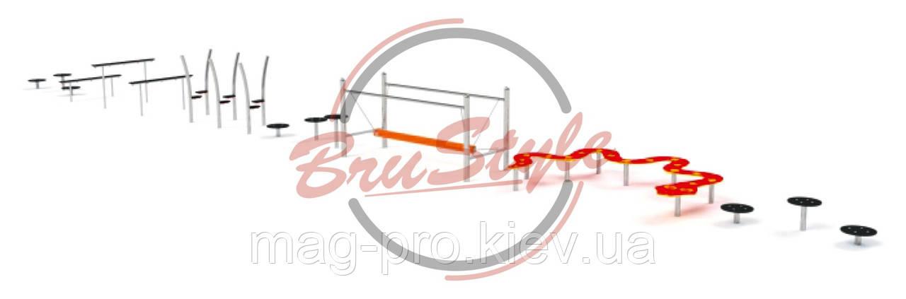 Детский игровой канатный комплекс BruStyle LK234