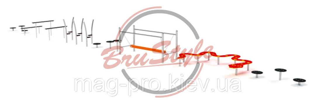 Детский игровой канатный комплекс BruStyle LK234, фото 2
