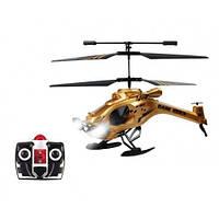 Вертолет на ИК управлении Auldey  DARK STEALTH (золотой, 22 см, 3-канальный, с гироскопом)