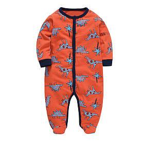 Человечек детский Добрые динозавры Berni Kids (6-9 мес)