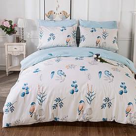 Комплект постільної білизни Блакитна птах (полуторний) Berni Home