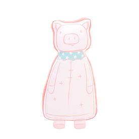 М'яка іграшка - подушка Рожева свинка, 60 см Metoys