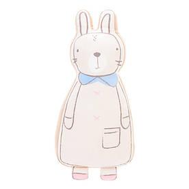 Мягкая игрушка - подушка Бежевый зайчик, 60 см Metoys
