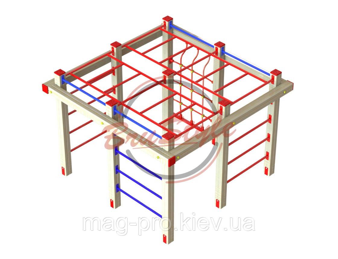 """Гімнастичний комплекс """"Дитячий лаз"""" BruStyle DIO662"""