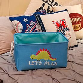 Корзина для игрушек, белья, хранения Динозавр Berni Home