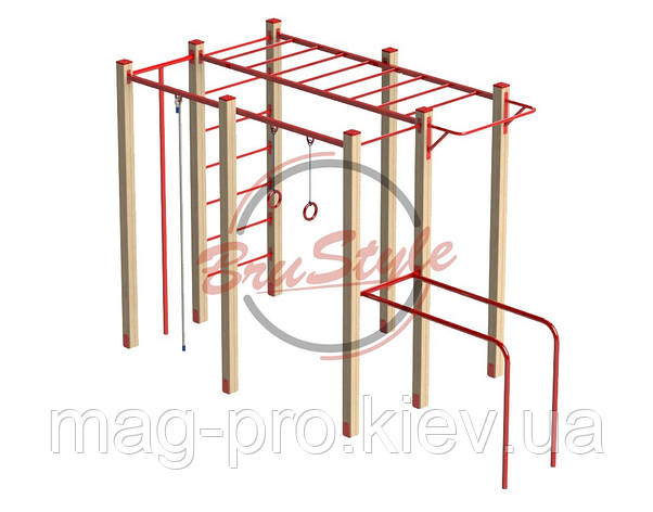 """Гімнастичний комплекс """"Робін-лайт"""" BruStyle DIO672.1, фото 2"""