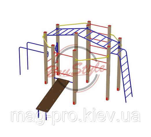 Гимнастический комплекс Акробат BruStyle DIO683, фото 2
