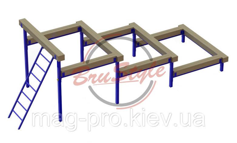 Препятствие разрушенная лестница BruStyle DIO689, фото 2