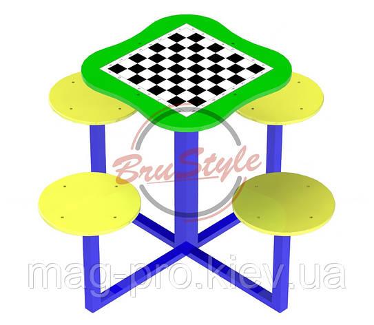 Столик для шахів BruStyle DIO237, фото 2