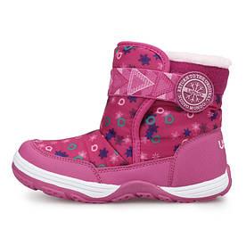 Чоботи для дівчинки shine Pink Uovo (28)