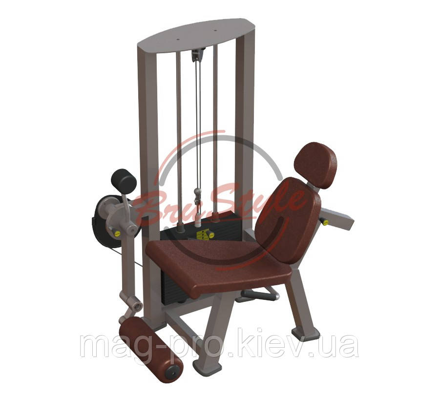 Тренажер для м'язів розгиначів стегна сидячи, BruStyle TC204