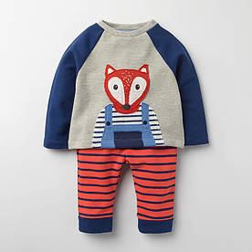 Дитячий костюм 2 в 1 Лис Little Maven (2 роки) 5 років, Хлопчикам, 5 років, 110