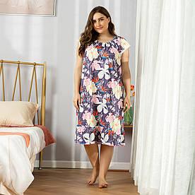 Сорочка нічна жіноча Allure Berni Fashion PLUS (XL)