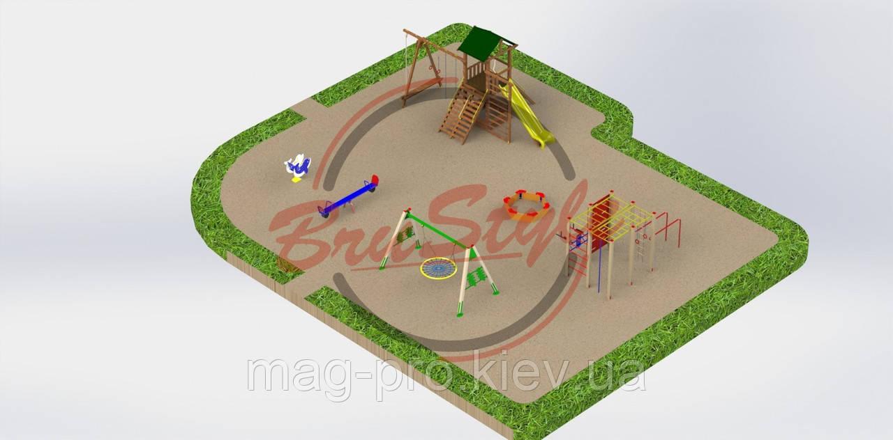 Детская игровая площадка  PG20