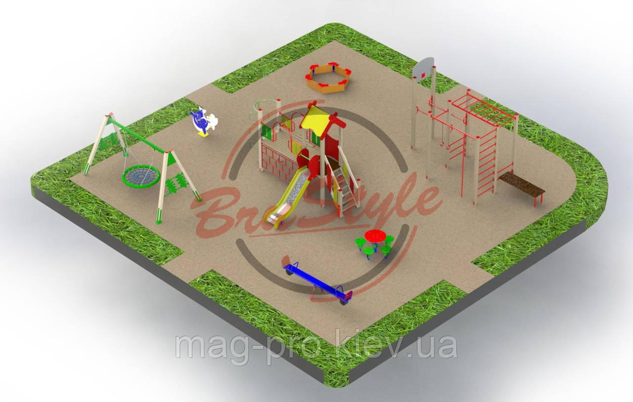 Дитячий майданчик BruStyle PG23