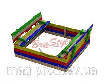 Пісочниця з кришкою-сидіннями BruStyle DIO233.5