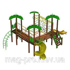 """Дитячий ігровий комплекс """"Острів"""" BruStyle DIO808.4"""