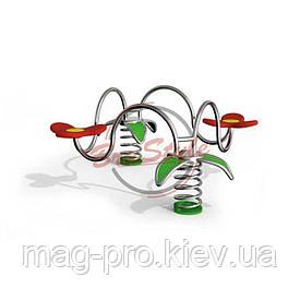 Дитяча гойдалка на пружині LIK116