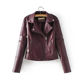 Куртка-жилет жіночий Courage, бордовий Berni Fashion (S)