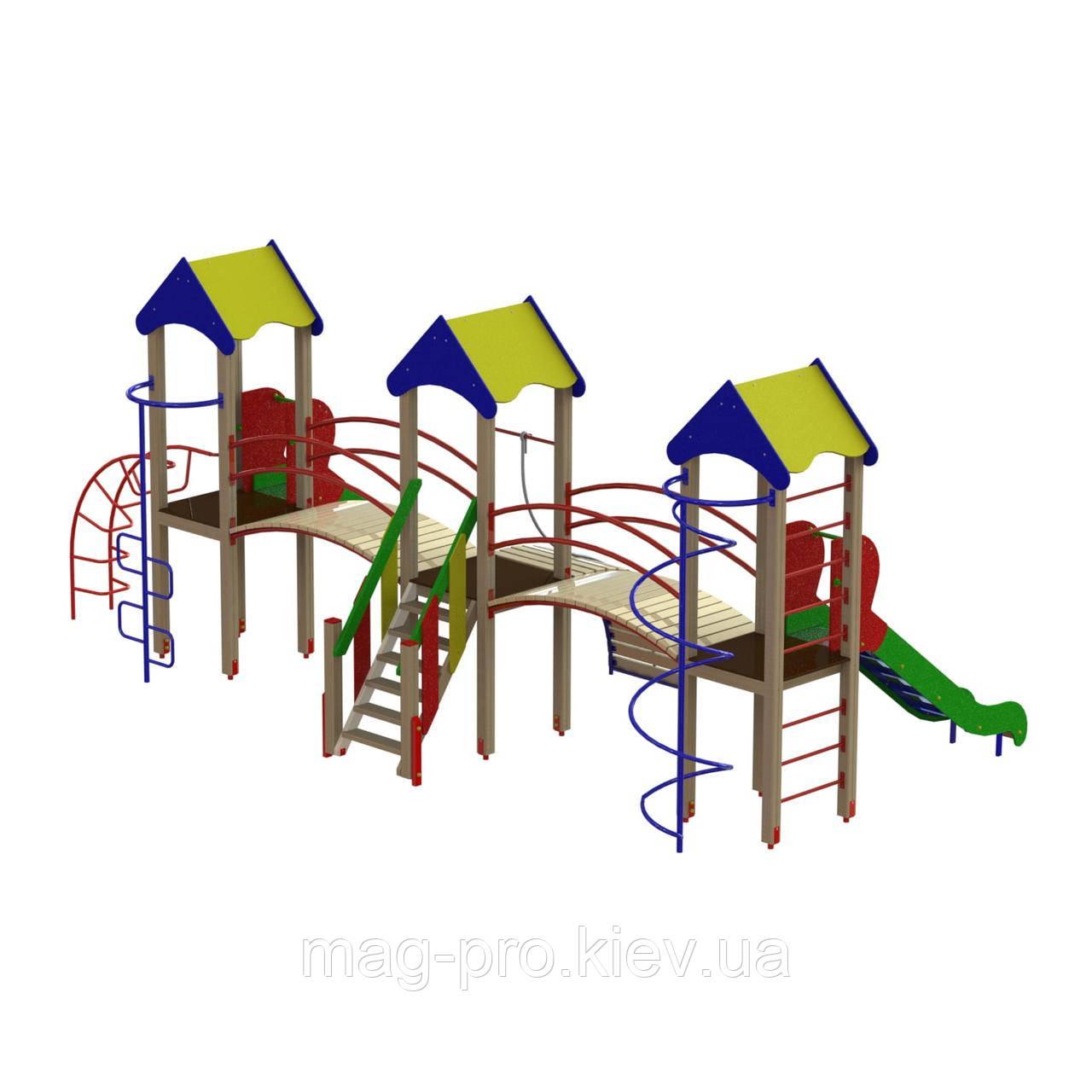 """Дитячий ігровий комплекс """"Три вежі"""" DIO703"""