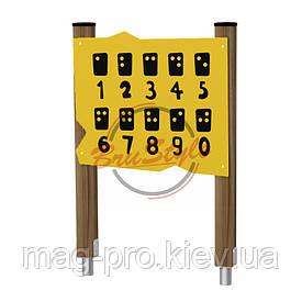 """Ігрова панель """"Логічні завдання"""" BruStyle DIO263HDPE"""