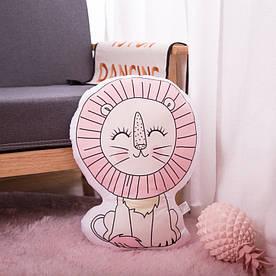 Мягкая игрушка - подушка Солнечный лев, 50см Berni Kids