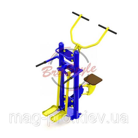 """Тренажер """"Тяга сверху - мышцы бедра"""" SG168, фото 2"""