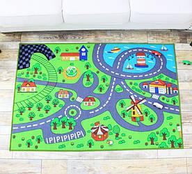 Килимок для дитячої кімнати Дорога до моря 150 х 200 см Berni Home