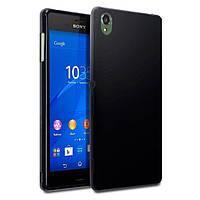 Чехол силиконовый Original Silicon Case для Sony Xperia Z3 D6603 Black