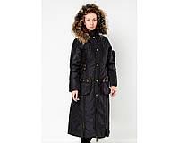Женское пальто холлофайбер  Snow Holy И85-OS