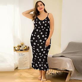 Сорочка нічна жіноча Chamomile Berni Fashion PLUS (XL)
