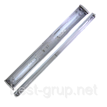 2x36W_Т8_G13 (ЛПО 2х40) PLF 30 - электронный балласт. Светильник люминесцентный накладной MAGNUM (Магнум)