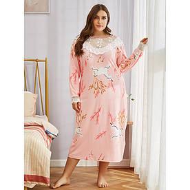 Сорочка нічна жіноча Unicorn Berni Fashion PLUS (XL)