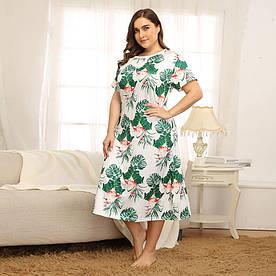 Сорочка нічна жіноча Monstera Berni Fashion PLUS (XL)