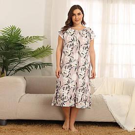 Сорочка нічна жіноча Beauty Berni Fashion PLUS (XXL)