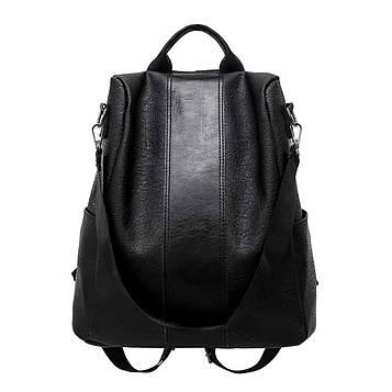Жіночий чорний рюкзак код 3-415