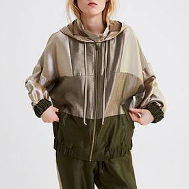 Ветровка женская из сатиновой ткани Olive Berni Fashion (S)