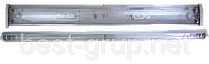 2x36W_Т8_G13 (ЛПО 2х40) PLF 50 - электромагнитный балласт. Светильник люминесцентный накладной MAGNUM