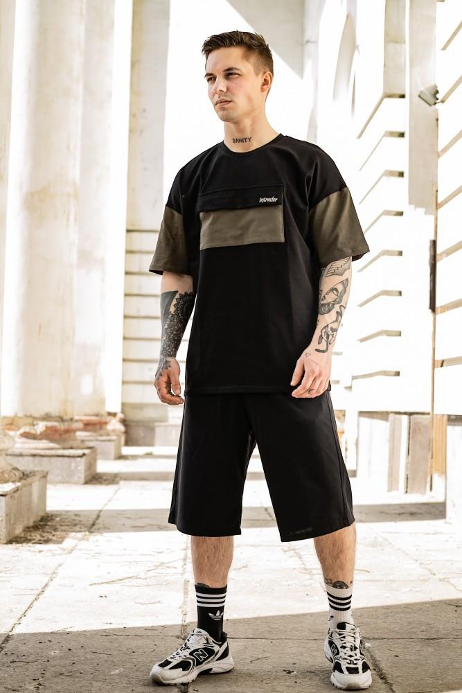 Комплект 'FreeDom' чорний з хакі